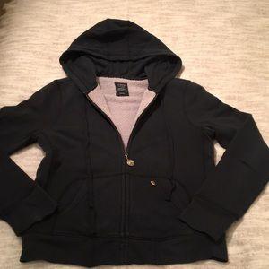 J. Crew Sherpa Fleece 100% Cotton Hoodie size M